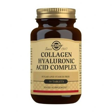 Collagen Hyaluronic Complex x 30 Tablets; Solgar